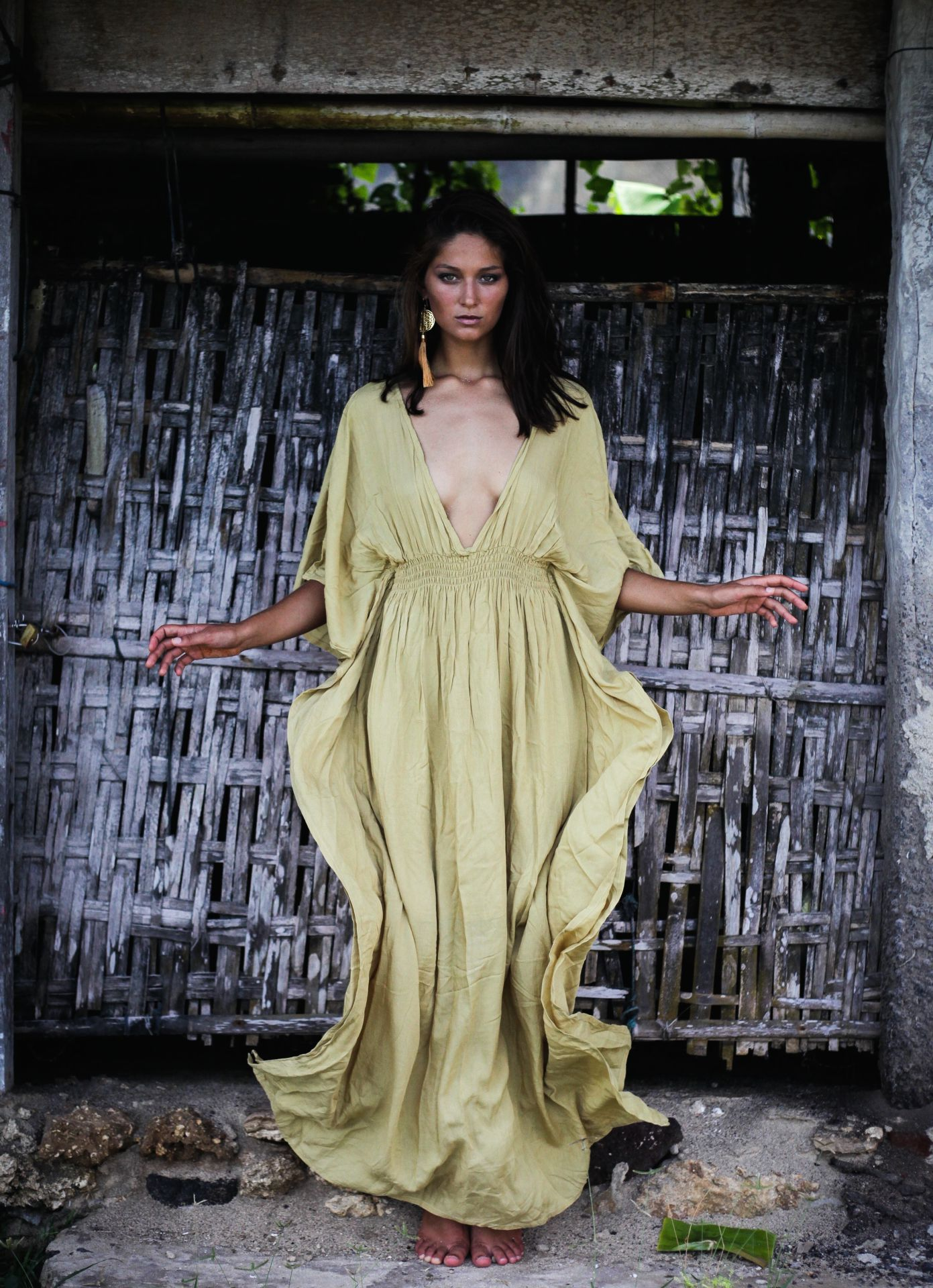Castaway Dress - Sand - House of Dharma 0a97601be