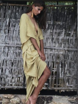 Castaway Dress - Sand