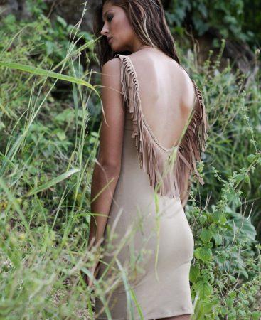 desert wanderer dress back