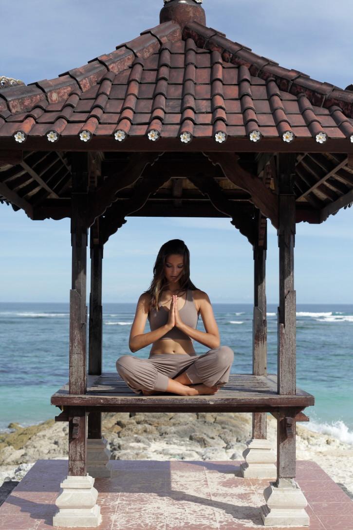Dharma Yoga/Lounge Pants - Eucalyptus