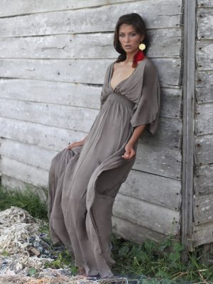 Castaway Dress - Stone