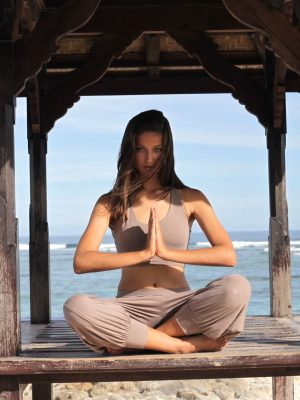 Dharma Yoga/Lounge Pants - Fawn