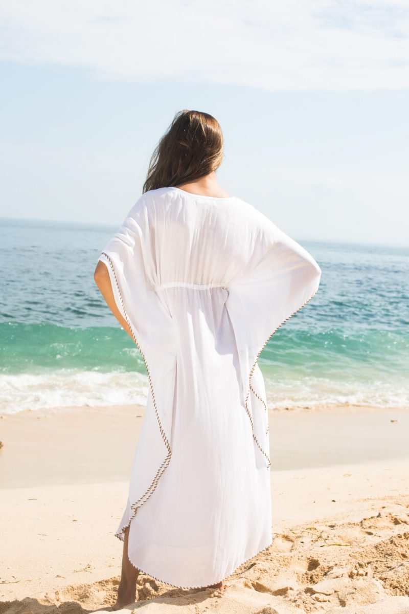The Barefoot Athena Maxi - White