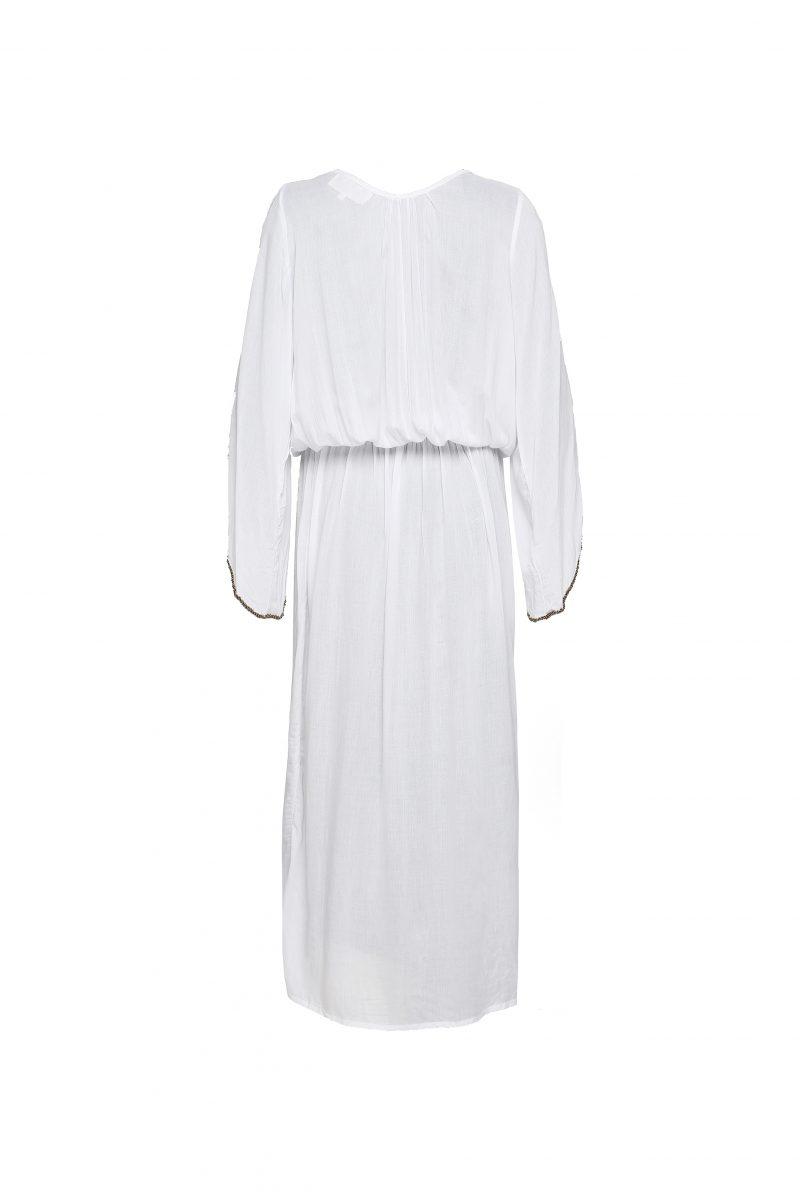 The Barefoot Aphrodite Maxi - White