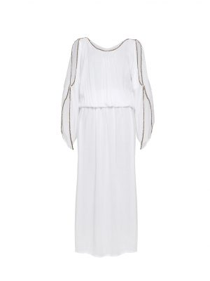 The Barefoot Aphrodite Maxi - White