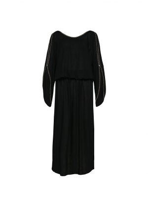 The Barefoot Aphrodite Maxi - Black