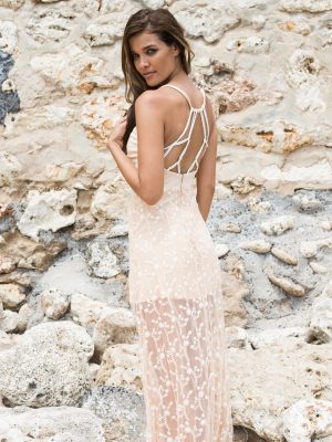 The Wanderlust Maxi - Nude