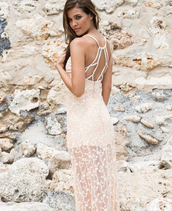 open_back_elegant_v_neckline_handmade