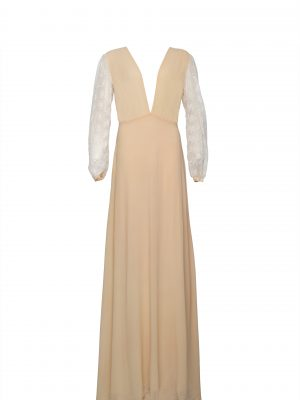 The Wanderlust V Maxi - Nude